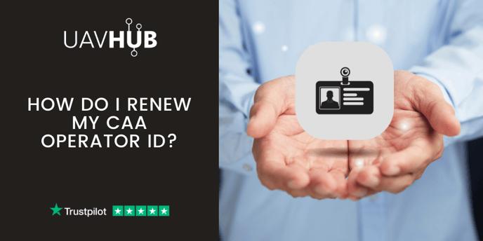 How do I renew my CAA Operator ID_